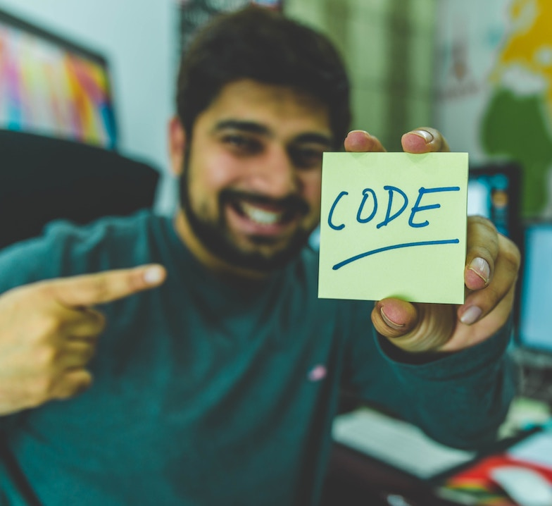 close up of codes on a text editor
